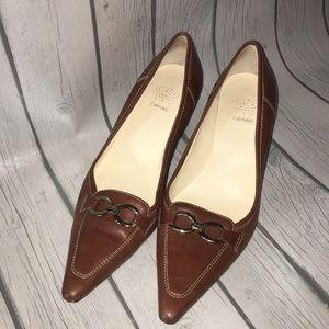 Joan & David Circa comfort 365 brown heels